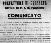 Le carte del processo Almirante nel fondo Carlo Ricchini